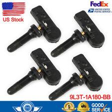 Set of 4 OEM Genuine For Ford Motorcraft Tire Pressure Sensor DE8T-1A180-AA TPMS