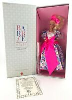 Vtg Barbie Style Collector Doll Special Limited Edition Mattel 1990 #5315 NRFB