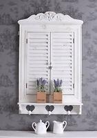 Wandspiegel Weiss Fensterladen Spiegel Holz Fenster Klappladen Spiegelfenster
