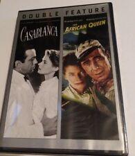 Casablanca/The African Queen Dvd Double Feature 2013 Katherine Hepburn Humphrey