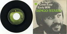 """Ringo STARR"" It don't come easy / Early 1970 (SP 45 tours français) NM"