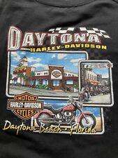 Vintage 00's 100th Year Anniversary Harley Davidson Daytona Beach T shirt 3Xl