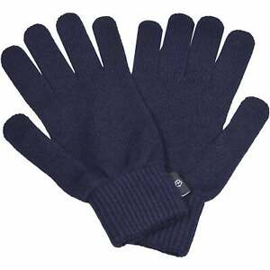 Ted Baker Cashmere Merino Wool Gloves, Navy One Size