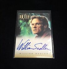 Outer Limits Sex, Cyborgs & Science Fiction William Sadler Autograph Card A14