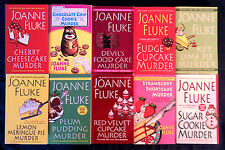 Lot of 10 books by JOANNE FLUKE ~ Hannah Swenson mysteries