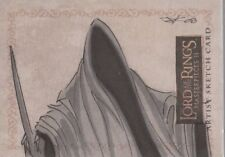 """Lord of the Rings Masterpieces II - Jim Kyle """"Ringwraith"""" Sketch Card"""