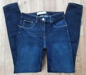 Ladies size 10 Long NEXT 360 Jeans jeggings Super Skinny Stretch Waist 28 leg 31