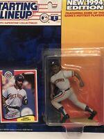 1994 Tony Phillips starting lineup Baseball figure toy Detroit Tigers Slu MLB 2b