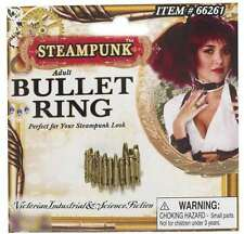 Steampunk Bullet Ring Costume Accessory