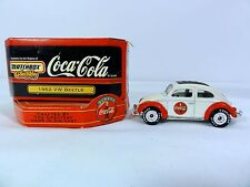 Matchbox Special Edition Coca Cola 1962 VW Beetle With Box