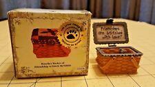 Boyds Treasure Box Rosella's Basket of Friendship w Stitch McNibble 02009-21 FoB