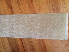 "Vintage Long Pile Velvet Nylon Faux Fur Fabric Miniature Bear Light Beige 10x27"""