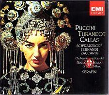 Puccini Turandot GA It Callas Serafin und Di MILANO Scala