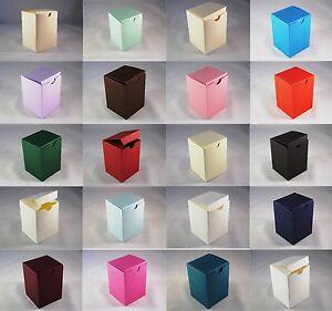 Tall Wedding Favour Boxes - Choose Colour - Choose QTY - SC11, 10, 50, 100
