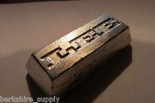 One Half Pound Of Britannia Metal Pewter casting ingot
