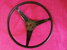 Steering Wheel 71 72 73 Charger Road Runner Dart Demon Black A B Body mopar NICE