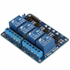 4 Channel 5V Relay module board for Arduino PIC ARM AVR DSP PLC - UK SELLER