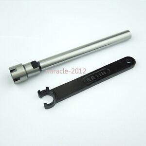 C10 ER11M 100L Straight shank & ER11M wrench Collet Chuck toolholder CNC Milling