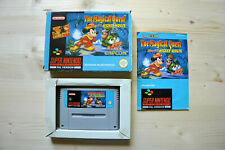 SNES - The Magical Quest starring Mickey Mouse - (OVP, mit Anleitung)