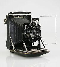 Kw c.1921 Cámara Plegable Estuche de patente con un rollo de película Adaptador Rollex (KZ113)