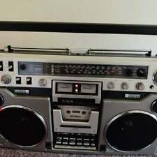 More details for vintage aiwa 955 stereo radio cassette recorder