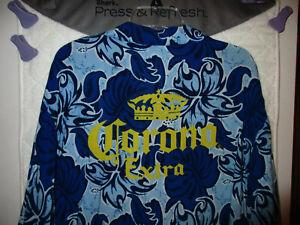 """Men's Corona Extra Hawaiian Style Rayon Shirt/ Size 2XL / P2P=26""""/ V.G.C."""