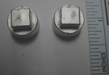 2 Lug nuts for Ideal Roy Rogers and other stage coaches