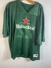 Heineken Beer Green Football Jersey Size Xxl #22