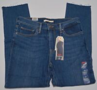 Women's Levi's Slimming Ankle Skinny Destructed Jeans with Cooling Technology