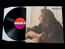 STEPHEN STILLS 2 LP UK 1st Press Plumb Atlantic + Insert Original