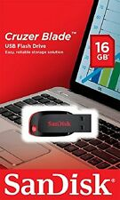 Sandisk 16GB Cruzer Blade 16 GB Usb PenDrive 16 GB + Warranty