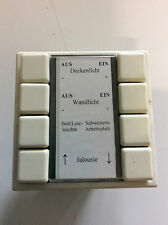 Merten 4 fach Taster mit Busankoppler 5WG1 110-2AA02