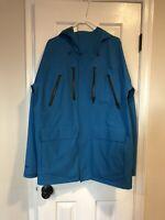Burton 3L Particle Snowboard Ski Winter Men's Gore-Tex Jacket Size Large