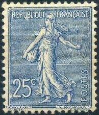 FRANCE SEMEUSE N°132 NEUF * AVEC CHARNIÈRE COTE 84€