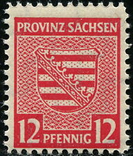 SBZ Provinz Sachsen Postmeistertrennung A Wittenberg 71 X A  gepr. Jasch BPP