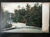 Vintage Postcard>1907-1915>Cascadella Bridge>Campus>Cornell University>Ithaca>NY