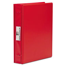 Charles Leonard Varicap6 Expandable 1 To 6 Post Binder 11 x 8-1/2 Red 61603