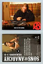 Back In For Gemma #64 Sons Of Anarchy Seasons 1-3 Cryptozoic 2014 Trading Card