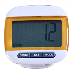 FormVan LCD Pedometer for Walking Clip On Portable Step Counter for Steps and