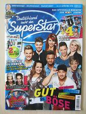 DSDS Magazin zur RTL-Show - März 2013 Nr.1/13 - Staffel 10 -TOP/aber ohne Poster