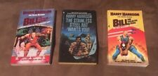 Lot of 3 : Harry Harrison Paperback Books