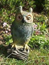 LATEX MOULD/MOULDS/MOLDS.       7.5 INCH OWL ON A LOG.