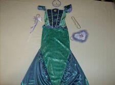 Disney Princess Little Mermaid Ariel Costume Dress Up M 7 8