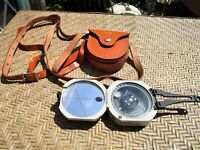 Vintage KEUFFEL & ESSER Pocket Transit, with Leather Case