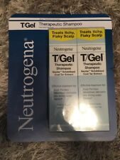 2 X 250ML Double Pack Neutrogena T/Gel Therapeutic Shampoo Dandruff Psoriasis