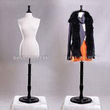Female Size 6-8 Mannequin Manikin Women Dress Form #F6/8W+Bs-R02B
