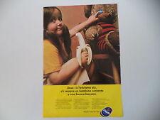 advertising Pubblicità 1973 BANANA CHIQUITA
