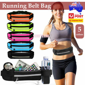 Waterproof Running Bum Bag Travel Waist Bags Money Zip Belt Pouch Sports Wallet