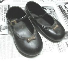 Vintage Plastic Baby Doll Shoes - Larger Size