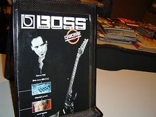 BOSS USERS GROUP Magazine Vol. 5 No. 1 ROLAND 2001 Steve Vai DAVID LYNCH BR-532